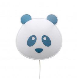 Applique panda - Bleu