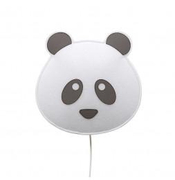 Applique panda - Noir