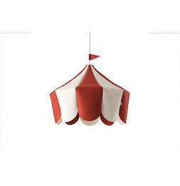 Suspension chapiteau - Rouge