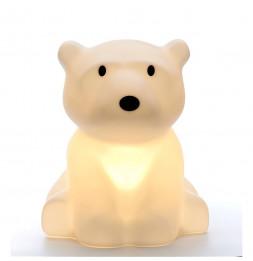 Lampe à poser Nanuk - Ours polaire - 35 x 42 cm