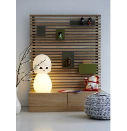 Lampe Poupée Japonaise Kokeshi - 30 x 60 cm