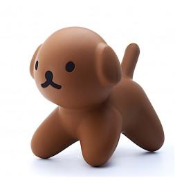 Grande figurine Snuffie - Chien - 25 x 31 x 42 - Marron