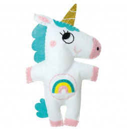 Little couz'in Alicia la licorne - L 16 x l 5 x H 26 cm