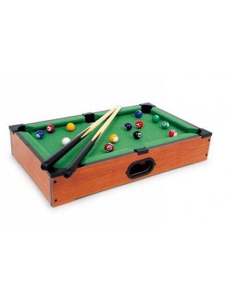 Billard de table - Mini jeu en bois - Jeu de groupe