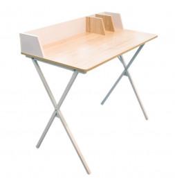 Bureau blanc - Brice - 90 x 50 x 84 cm