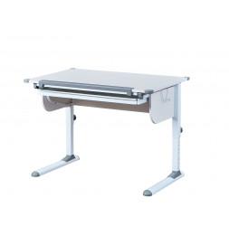 Bureau Studare ajustable et inclinable - l 110 x P 68 x H 55-78 cm - Blanc
