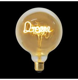 Ampoule décorative DREAM - Blanc chaud - LED E27 4W equivalent 18W