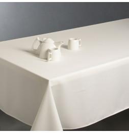 Nappe anti taches rectangulaire 150 x 300 cm - Blanc ivoire