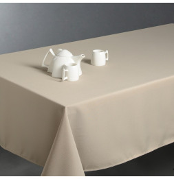 Nappe anti taches rectangulaire 150 x 300 cm - Beige