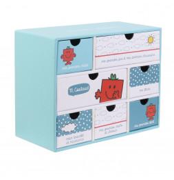 Boîte à souvenirs de naissance - Cadeau bébé - M Costaud