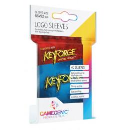 Keyforge - Sachet de 40 pochettes Logo Bleu