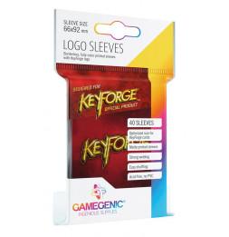 Keyforge - Sachet de 40 pochettes Logo Rouge