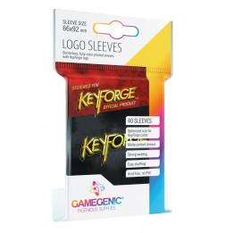 Keyforge - Sachet de 40 pochettes Logo Noir