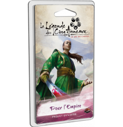Jeu de société La Légende des Cinq Anneaux JCE- Pour l'Empire - Cycle 3 - Extension - 2 joueurs - dès 14 ans