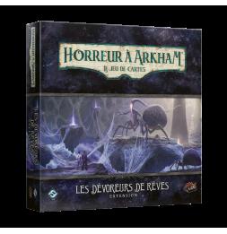 Jeu de société Horreur à Arkham JCE- Les Dévoreurs de Rêve - Campagne 5 - Extension - 2 joueurs et plus - dès 14 ans
