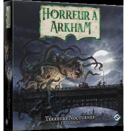 Jeu de plateau Horreur à Arkham - Terreurs Nocturnes - Extension - 1 à 6 joueur - Dès 14 ans