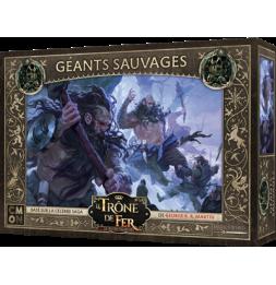 Le Trône de Fer - Le Jeu de Figurines- Géants Sauvages - Extension - 2 joueurs et + - dès 14 ans