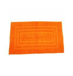 Tapis de bain 100% coton - 50 x 85 cm - Orange
