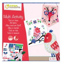 Coffret Multi-activité - Tout en tissu - 6/10 ans et +