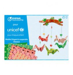 Mobile Origami à suspendre - Loisir créatif - Collection UNICEF - 6 ans et +