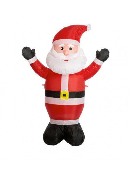 Père Noël gonflable - H 120 cm