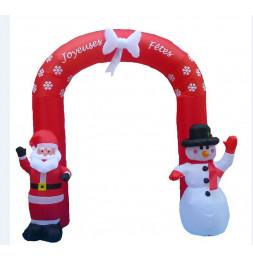 Arche gonflable de Noël - H 240 cm