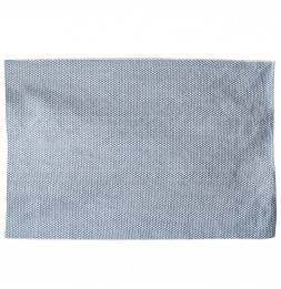 Tapis bleu - Motif losanges - 140 x 200 cm