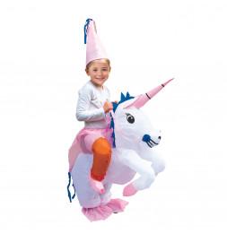 Déguisement licorne gonflable - Enfant