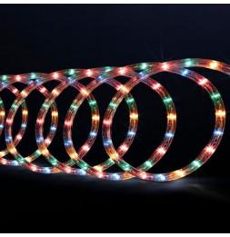 Tube lumineux guirlande à LED 40m - Multicolore - 8 fonctions