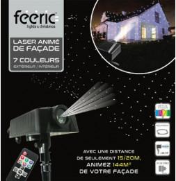 Laser de façade avec mouvements - 7 couleurs