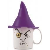 Mug avec chapeau - Sorcière - Grande tasse 40 cl