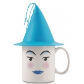 Mug avec chapeau - Blue - Grande tasse 40 cl