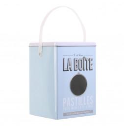 Boîte de rangement - Boîte à lessive - Bleu pastel