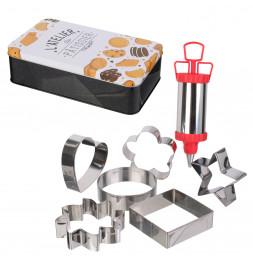 Coffret de pâtisserie - Boîte métallique