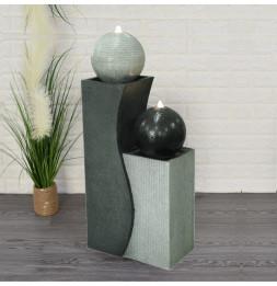 Grande fontaine XL Millos - L 42 x l 24 x H 94 cm - Polyrésine