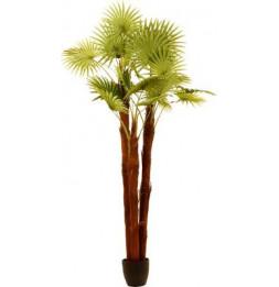 Palmier en pot artificiel - D 86,5 x H 180 cm