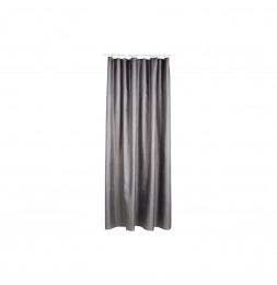 Rideau de douche - Polyester - 180 x 200 cm - Gris