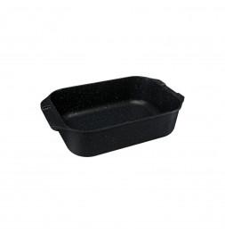 """Plat à four """"rôtisserie"""" - L. 40 cm - Noir"""