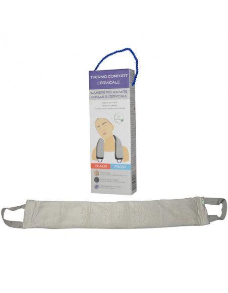 Lanière relaxante Thermo Confort - L 67 x l 10 cm - Cervicale