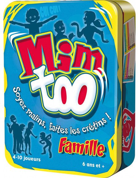 Jeu d'ambiance en famille - Mimtoo Famille - Asmodee