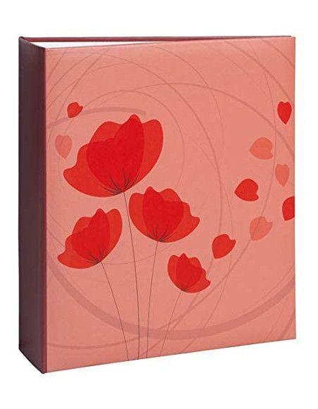 Album photo à pochettes 200 mémos Ellypse 2 - Rouge