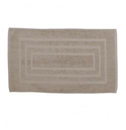 Tapis de bain 100% coton - 50 x 85 cm - Beige