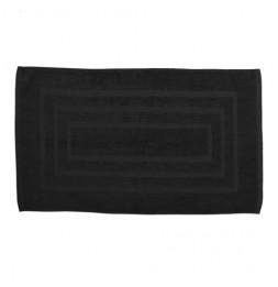 Tapis de bain 100% coton - 50 x 85 cm - Noir