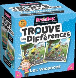 BrainBox : Trouve les Différences - Vacances