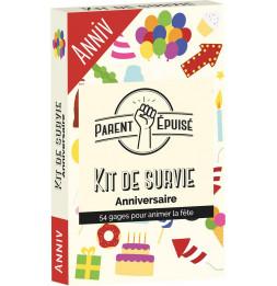 Jeu de cartes - Parent Épuisé: Kit de survie Anniversaire