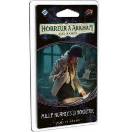 Jeu de cartes - Horreur à Arkham JCE: Mille Nuances d'Horreur (Campagne 5)