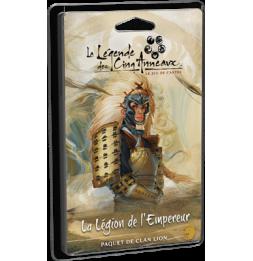 Extension de jeu - Légende des Cinq Anneaux JCE: Légion de l'Empereur (Clan Lion)