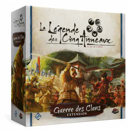 Extension de jeu - Légende des Cinq Anneaux JCE: Guerre des Clans (Clan Lion)