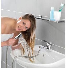 Douchette pour lavabo avec crochet Duo