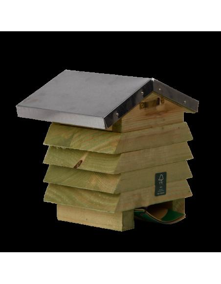 Abri en bois pour abeilles - L 12,3 x l 15,8 x H 15,2 cm